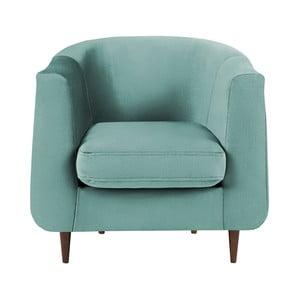 Turkusowy fotel Kooko Home Glam