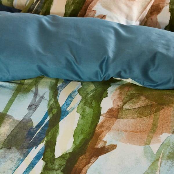 Pościel Essenza Yono, 200x200 cm, zielono-niebieska