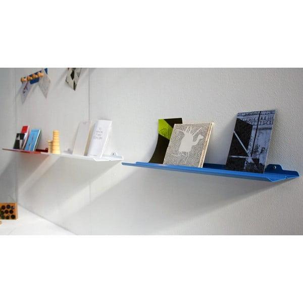 Półka ścienna Tab Shelf by Phil Procter, czerwona