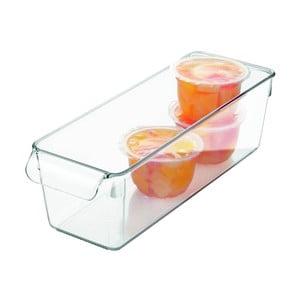 Pojemnik do lodówki InterDesign Clarity, 10x29 cm