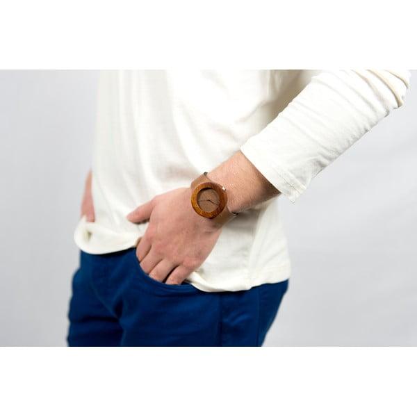Drewniany zegarek Analog Watch Co. Makore & Red Sanders