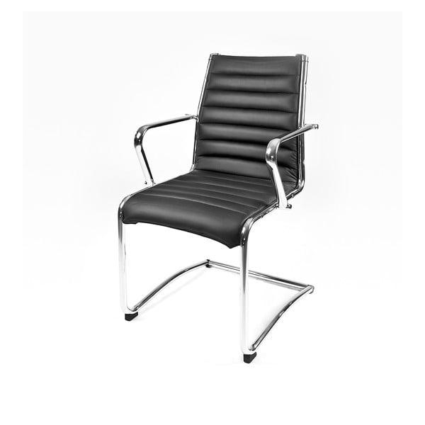 Krzesło biurowe Pandora, czarne