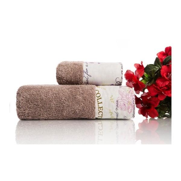 Zestaw 2 ręczników Laska V2, 30x50 cm + 50x90 cm