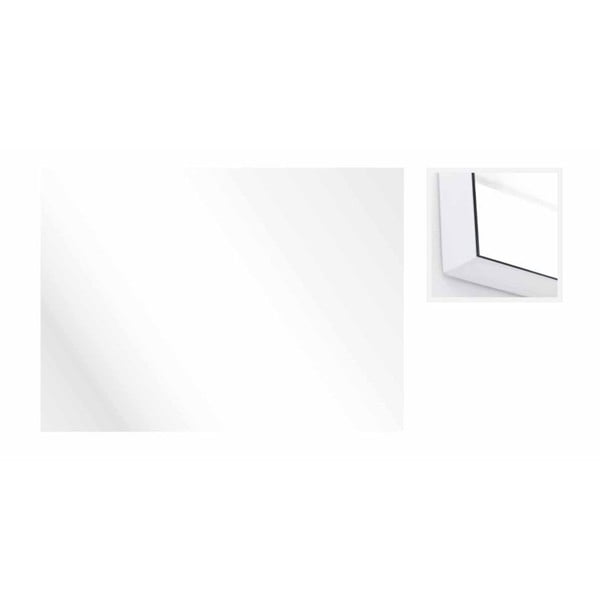 Lustro ścienne Honduras Bianco, 90x72 cm