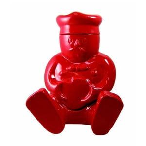 Pojemnik na herbatniki Claude, czerwony