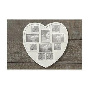 Ramka na zdjęcia Heart, 43 cm, 10 zdjęć