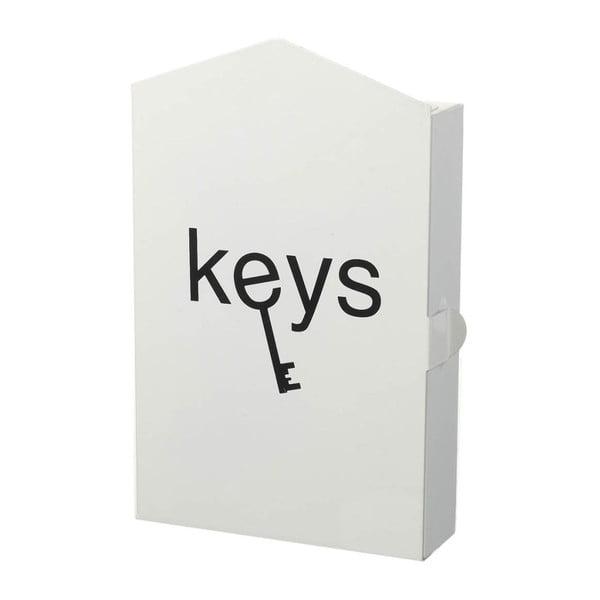 Skrzynka na klucze Classic White