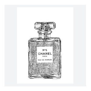 Plakat Perfume Bottle, 30x40 cm