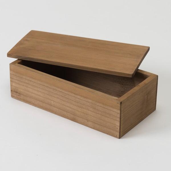 Pojemnik drewniany Compactor Vintage Box, 12x23,5 cm