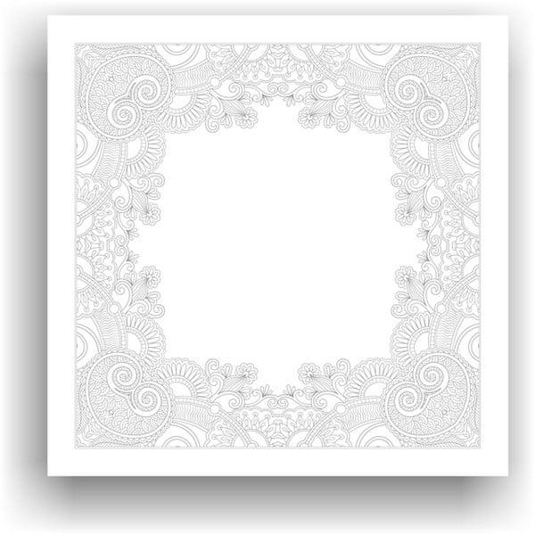 Obraz do kolorowania 108, 50x50 cm