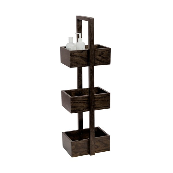 Stojak/szafka łazienkowa Wireworks Caddy Wireworks Mezza Dark, 84 cm