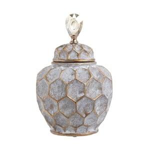 Pojemnik ceramiczny InArt Diamond, wysokość35,5cm