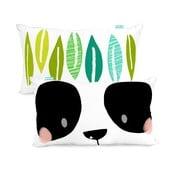 Dwustronna poszewka bawełniana na poduszkę Moshi Moshi Panda Garden, 50x30 cm