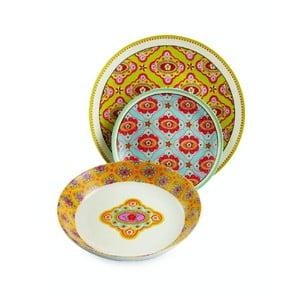Zestaw talerzy porcelanowych Dinasty, 18 sztuk