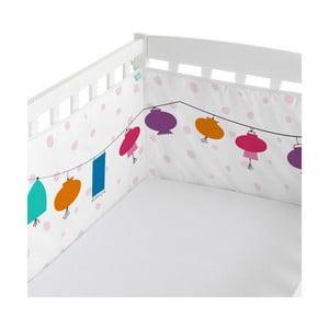 Ochraniacz do łóżeczka Cherry Blossom, 60x60x60 cm