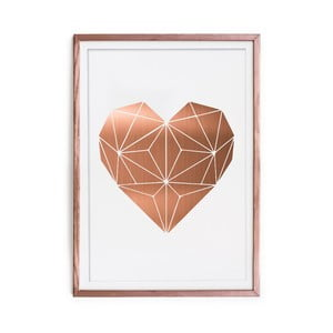 Obraz Really Nice Things Cobre Heart, 60x40 cm