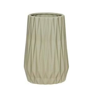 Szary wazon ceramiczny Hübsch Ditmer