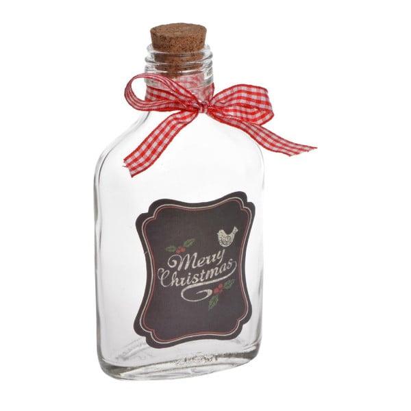 Butelka szklana Merry Chistmas Small