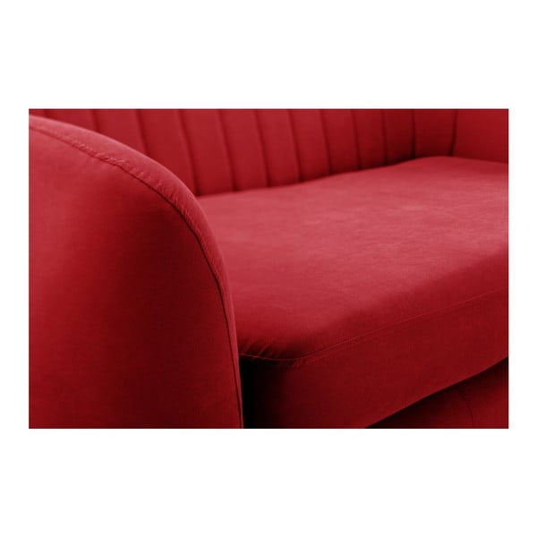 Sofa dwuosobowa Comete Stripes Red