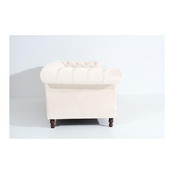 Kremowa sofa trzyosobowa Max Winzer Ivette