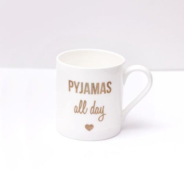 Kubek porcelanowy Pyjamas all day, 290 ml