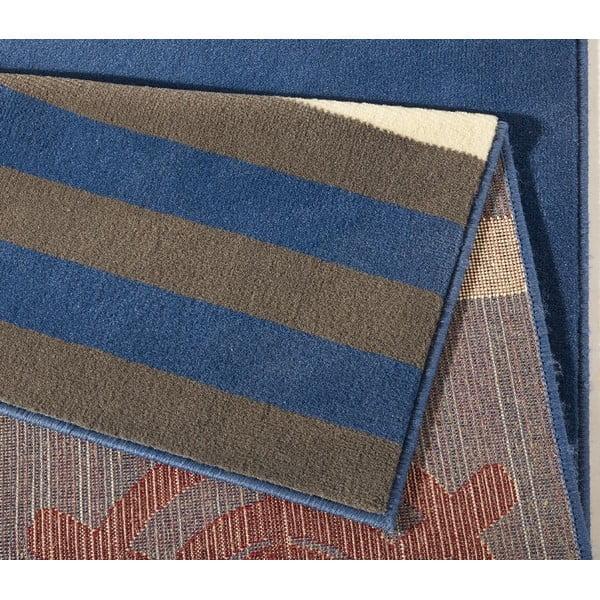 Niebieski dywan dziecięcy Hanse Home Seafarer, 140x200 cm