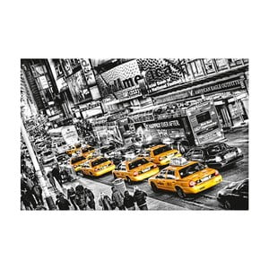 Plakat wielkoformatowy Cabs Queue, 175x115 cm