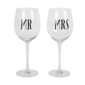 Zestaw 2 kieliszków do wina Sass & Belle Mr And Mrs
