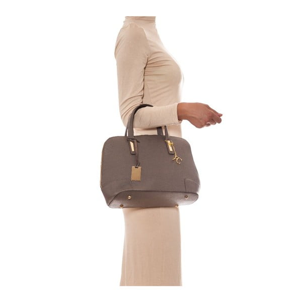 Skórzana torebka Renata Corsi 418 Fango