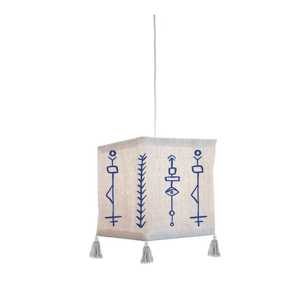 Tekstylna lampa wisząca Madre Selva Juno
