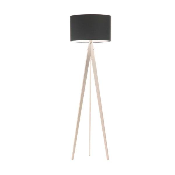 Lampa stojąca Artist Poly Grey/White, 150x42 cm