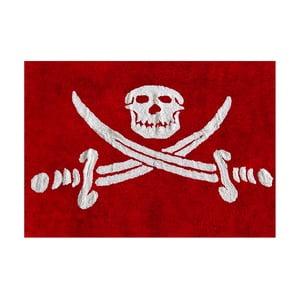 Dywan Pirata 160x120 cm, czerwony