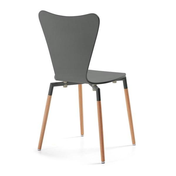 Zestaw 4 szarych krzeseł La Forma Eclectic