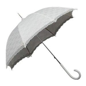 Biały parasol Falconetti Victorian Lace
