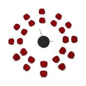 Zegar samoprzylepny Mauro Ferretti Apples, ⌀75cm