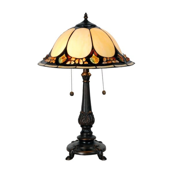 Lampa stołowa Tiffany Complete, 41 cm