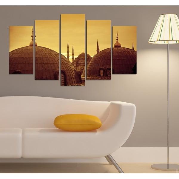 5-częściowy obraz Orient