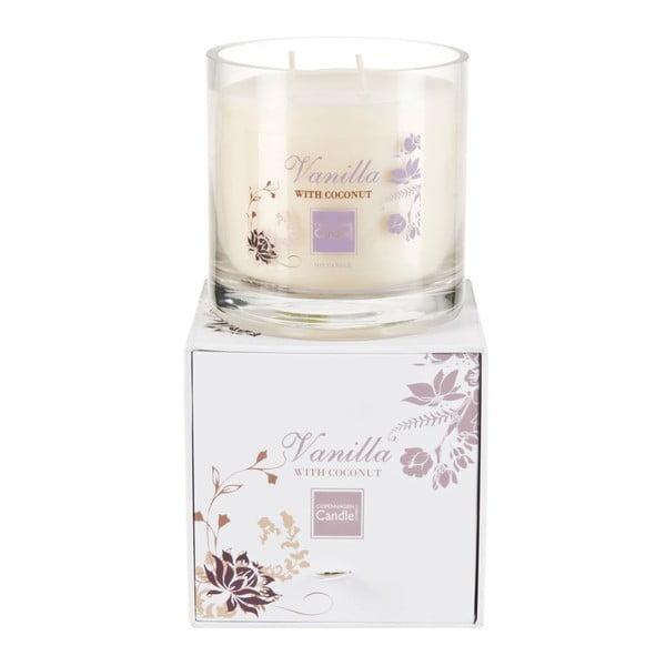 Świeczka zapachowa Vanilla&Coconut Medium, czas palenia 50 godzin