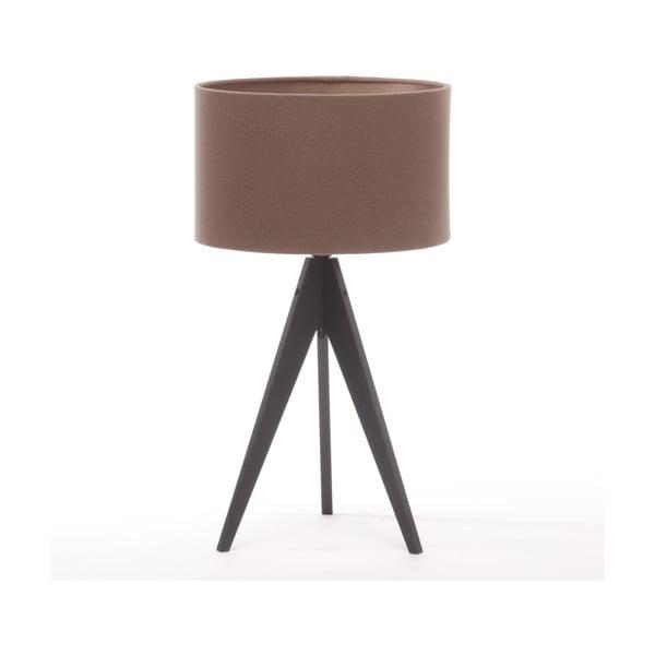 Lampa stołowa Artist Dark Taupe/Black