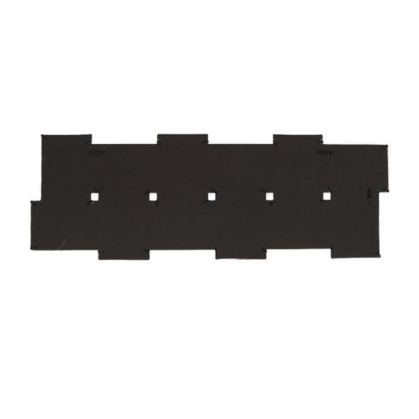 Połączone ramki na 12 zdjęć, poziome czarne