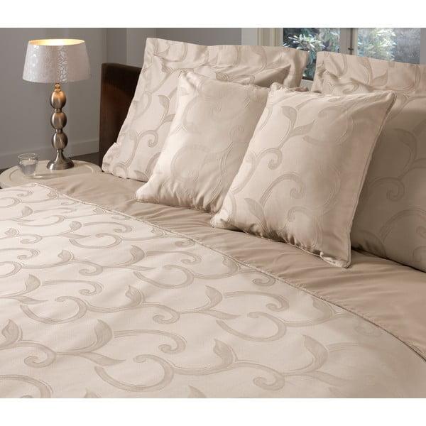 Poszewka na poduszkę Curls Sand, 50x50 cm