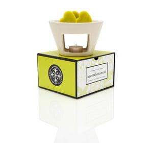 Lampa aromatyczna o zapachu trawy cytrynowej Aromabotanical Sweet Home, czas palenia30h