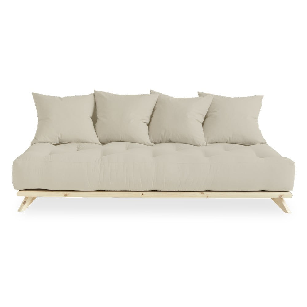 Sofa z beżowym obiciem Karup Design Senza Natural/Beige