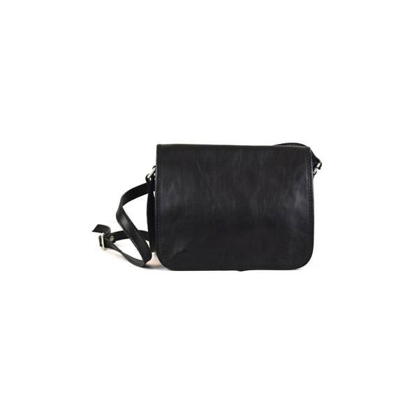 Skórzana torebka Santo Croce 8802 Black