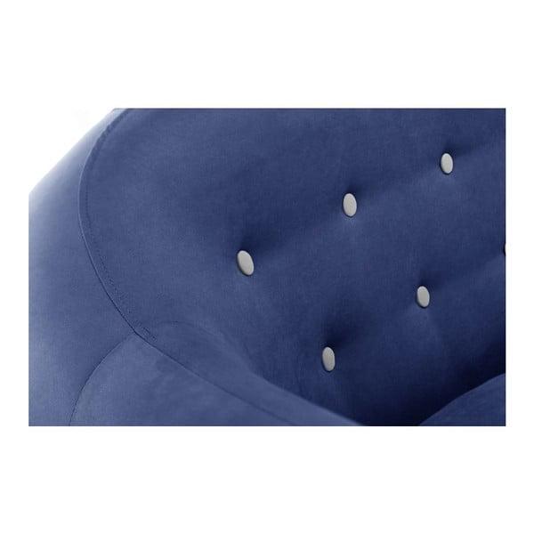 Niebieski 3-osobowy narożnik lewostronny Scandi by Stella Cadente Maison Constellation