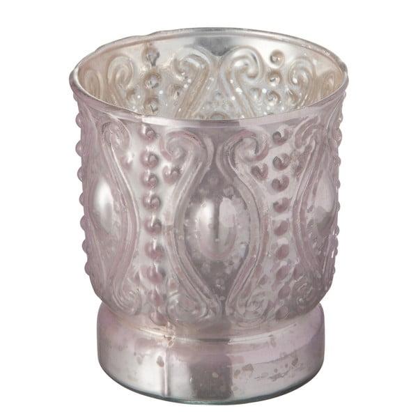 Szklany świecznik Nacre