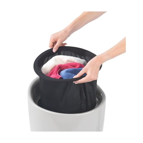 Beżowy kosz na pranie i taboret w jednym Wenko Candy, 20 l