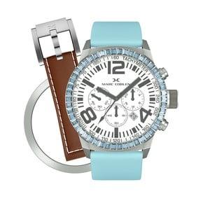 Zegarek damski Marc Coblen z dodatkowym paskiem i obręczą P79