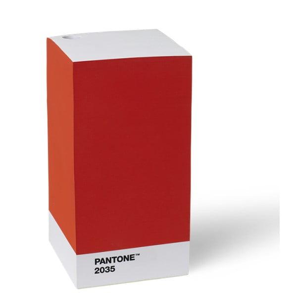 Czerwony bloczek LEGO® Pantone
