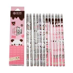 Zestaw 12 ołówków Rex London Panda